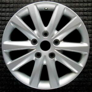 Chrysler Town And Country Hyper Silver 17 Inch Oem Wheel 2015 2016