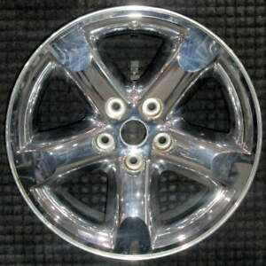 Dodge Ram 1500 Chrome Clad 20 Inch Oem Chrome Clad Wheel 2006 To 2008