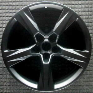 Chevrolet Camaro Matte Black 20 Inch Oem Wheel 2016 To 2017