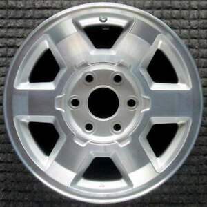 Chrysler 300 Machined W Silver Pockets 17 Inch Oem Wheel 2005 To 2008