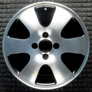Ford Focus Machined W Black Pockets 16 Inch Oem Wheel 2000 To 2003