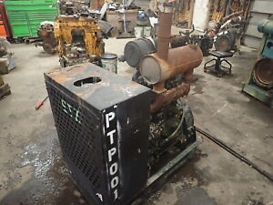 John Deere 4045 Power Unit Runs Exc Video 4 5 4045df150 Diesel Engine