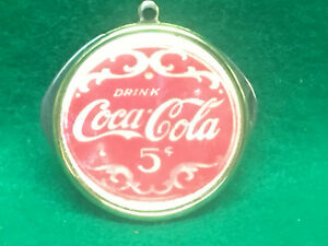 Vintage Coca Cola On Mother Of Pearl Pocket Knife 2 Blade USA Made