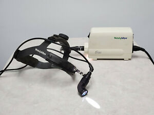 Welch Allyn Solarc Light Source 49501 With Surgical Head Light