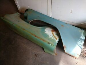 1959 Buick Fenders Left And Right Fenders Very Good Solid Condition