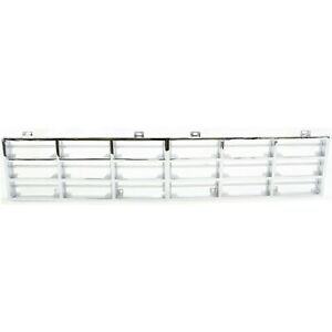 Grille Insert For 81 85 Dodge D150 Ramcharger Chrome Plastic