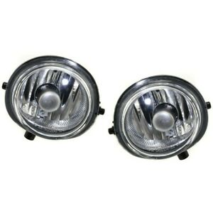 Set Of 2 Clear Lens Fog Light For 2006 08 Mazda 6 Lh Rh W Bulbs