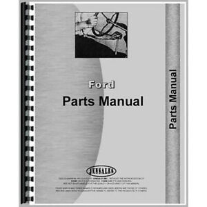 Fo p eng 104 Engine Only Parts Manual Fits Ford 104 Engine Cl30 Cl40