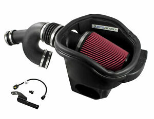 2015 2017 Ford F 150 3 5 V6 Roush Cold Air Intake W Ecoboost Emblem