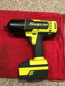 Snap On Ct8850hv 1 2 Drive Cordless Impact Wrench Snap on Ct8850 With Batteri
