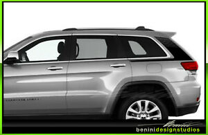 Quarter Panel Racing Stripes Graphics 2 Fits 2011 2020 Jeep Grand Cherokee