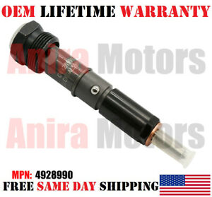 Brand New 1 Piece Oem Cummins Fuel Injector For 4bt Diesel Engine 4928990