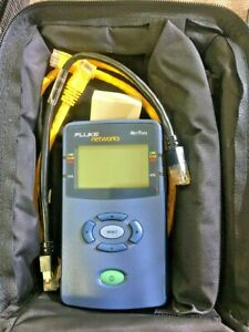 Fluke Networks Nettool 10 100 Network Tester Calibrated