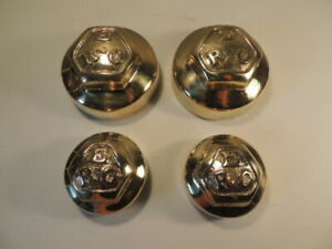 1908 09 10 11 12 Reo Brass Hubcaps Castings 1 And 2 Cylinder H Trucks Brass Era