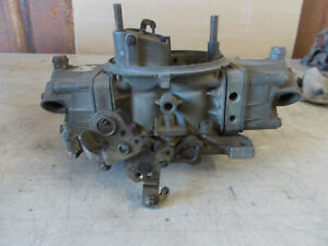 Holley List 1850 2 Date 1630 600 Cfm Vac Secondaries Electric Choke Untested