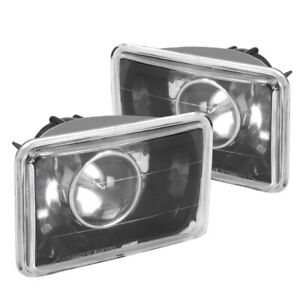 For 1995 1996 1997 Chevy S10 Blazer Black Projector Headlights 95 96