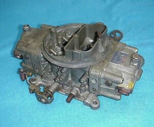 Used 4788 Holley Double Pump Carb Carburetor 830 Cfm Pumper Ford Chevy Amc