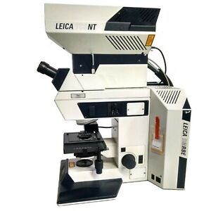 Leica Dmrbe Microscope W Leica Tcs nt Scan Unit 301 371 011 Dmrbe Tcsnt