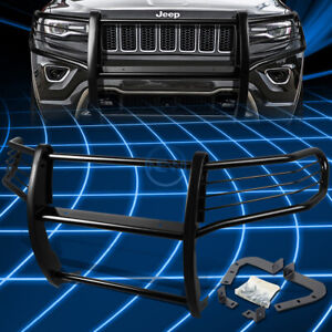 For 11 16 Jeep Grand Cherokee Black Bumper Grill Protector Grille Brush Guard