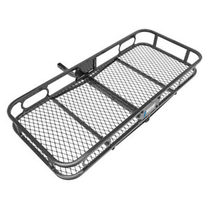 Rambler 20 x47 Cargo Carrier Basket Rack Fits 1 1 4 Trailer Tow Hitch Receiver