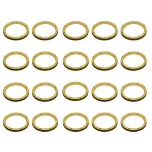 20 Link Pin Dust Seals For Caterpillar Cat 980g 980h 966 442e 424bdh Gll55