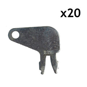 20 Aftermarket Forked Keys For 8h5306 8h 5306 Fits Caterpillar Switch 7n0718
