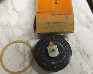 1957 Cadillac Nos Gm 7012410 Choke Coil Cover Assy Rochester Model 4gc Carb 57