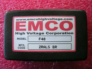 Emco F40 High Voltage Power Supply Module 4kv 4 000 Volts Brick international