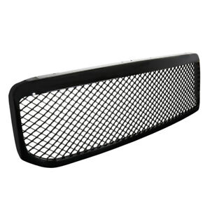 For Ford F250 F350 Excursion Abs Black Mesh Front Bumper Hood Grill Grille Assem