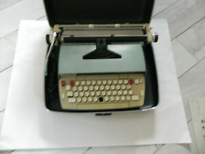 Smith Corona Electra 120 Typewriter Case Paperwork