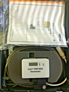 Smiths Medical Hlta 390 Level 1 Temp Check Thermometer With Case Calibrated
