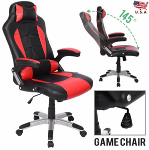 Office Chair Gaming Chair Recliner Racing High back Swivel Task Desk Headrest Us
