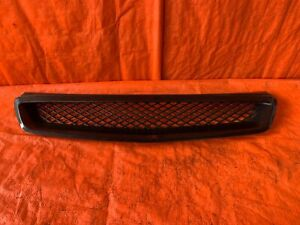 Aftermarket 1999 2000 Honda Civic Si Em1 Front Grille Style Abs Plastic