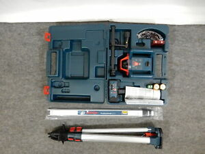 Bosch Grl800 20hvk 800 Ft Self Leveling Rotary Laser Level Kit
