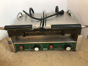 Waring Wpg300 Ottimo Grooved Panini Press Sandwich Grill