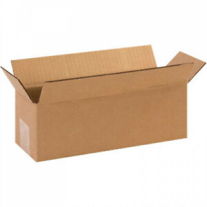 12 X 4 X 4 Long Cardboard Corrugated Boxes 65 Capacity 200 ect 32 Pkg 25