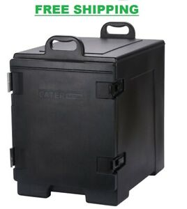 Insulated Food Pan Carrier Box Commercial Catering Chafing Dish Hot Cold Cooler