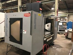 2011 Toyoda Fv 1365 Cnc Vmc 51 X 25 50 Taper With Fanuc Control See Video
