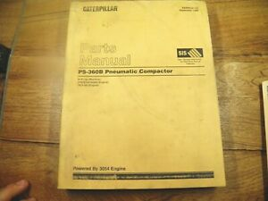 Cat Caterpillar Ps360b Pneumatic Compactor Parts Manual 9ls
