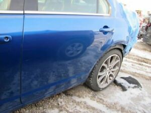 Driver Rear Side Door Without Side Moulding Holes Fits 06 12 Fusion 2076016