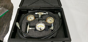 Caterpillar Cat 1u5796 Oem Pressure Differential Group Test Gauge Set With Box