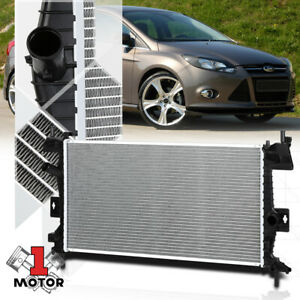 Aluminum Core Cooling Radiator Oe Replacement For 12 18 Ford Focus 2 0 Dpi 13219