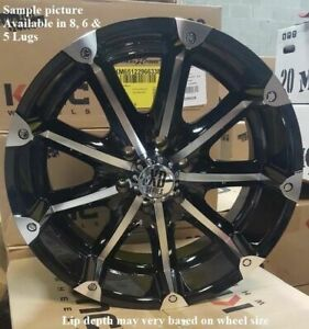 Wheels For 20 Inch Dodge Ram 1500 2001 2002 2003 2005 2005 2006 Rims 1889