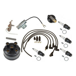 Complete Tune Up Kit For Fits Ih Farmall Tractors With Horizontal Distributor 19