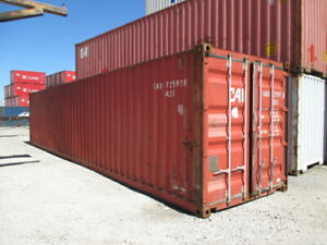 Used Shipping Storage Containers 40ft Wwt Houston Tx 4000
