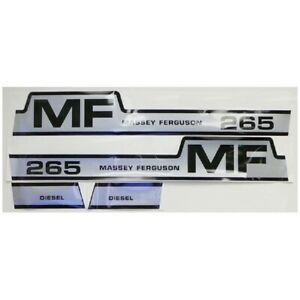 Hood Decals For Massey Ferguson 265