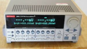 Keithley 2602 Dual Channel Sourcemeter Mint W New Display 30 Day Ror