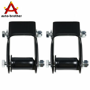Lh Rh Leaf Spring Shackle Rear Pair Set Fit For Chevy Blazer S10 Gmc Jimmy S15