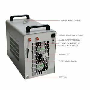60hz Cw 5200dg Industrial Water Chiller For Co2 Laser Tube 6l Cooling Tank Usa