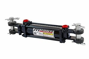 Hydraulic Cylinder Tie Rod Double Action 2 5 Bore 6 Stroke 2500 Psi 2 5x6 New